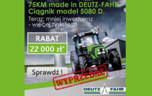 DEUTZ-FAHR 5080 D. Mniej inwestujesz – więcej zyskujesz!
