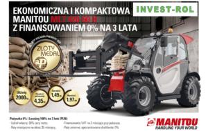 Ekonomiczna i kompaktowa MANITOU MLT 420-60H