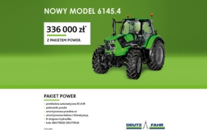 NOWY MODEL AGROTRON 6145.4 . Teraz więcej możliwości.